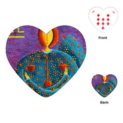 Libra Zodiac Sign Playing Cards (Heart)
