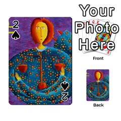 Libra Zodiac Sign Playing Cards 54 Designs