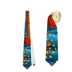 Libra Zodiac Sign Neckties (Two Side)
