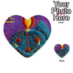 Libra Zodiac Sign Multi-purpose Cards (Heart)