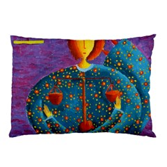 Libra Zodiac Sign Pillow Cases (Two Sides)