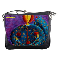 Libra Zodiac Sign Messenger Bags