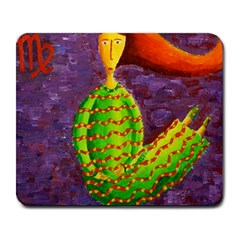 Virgo Zodiac Sign Large Mousepads