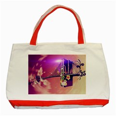 Vintage Classic Tote Bag (red)