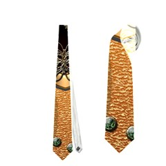 Steampunk, Shield With Hearts Neckties (one Side)