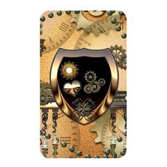 Steampunk, Shield With Hearts Memory Card Reader
