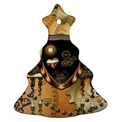 Steampunk, Shield With Hearts Ornament (Christmas Tree)