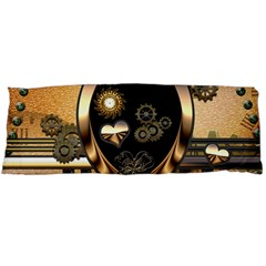 Steampunk, Shield With Hearts Body Pillow Cases (Dakimakura)