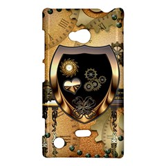 Steampunk, Shield With Hearts Nokia Lumia 720