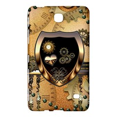 Steampunk, Shield With Hearts Samsung Galaxy Tab 4 (8 ) Hardshell Case