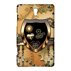 Steampunk, Shield With Hearts Samsung Galaxy Tab S (8.4 ) Hardshell Case