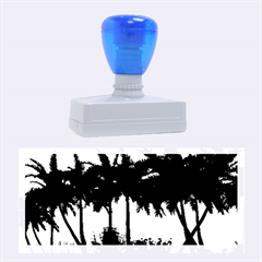 Sunset Over The Beach Rubber Stamps (Large)