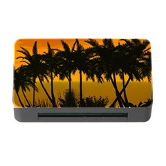 Sunset Over The Beach Memory Card Reader with CF