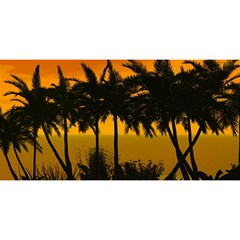 Sunset Over The Beach YOU ARE INVITED 3D Greeting Card (8x4)