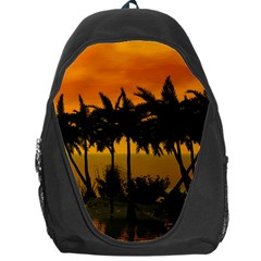Sunset Over The Beach Backpack Bag