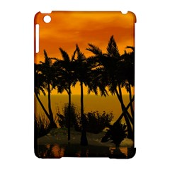 Sunset Over The Beach Apple iPad Mini Hardshell Case (Compatible with Smart Cover)