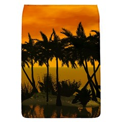 Sunset Over The Beach Flap Covers (S)
