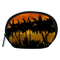 Sunset Over The Beach Accessory Pouches (Medium)