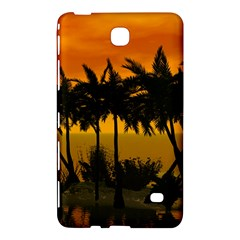 Sunset Over The Beach Samsung Galaxy Tab 4 (7 ) Hardshell Case