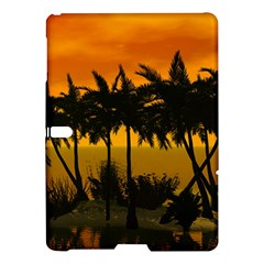 Sunset Over The Beach Samsung Galaxy Tab S (10.5 ) Hardshell Case