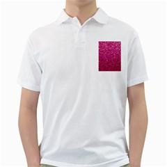 Polka Dot Sparkley Jewels 1 Golf Shirts