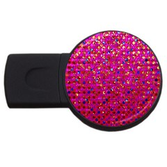Polka Dot Sparkley Jewels 1 USB Flash Drive Round (2 GB)