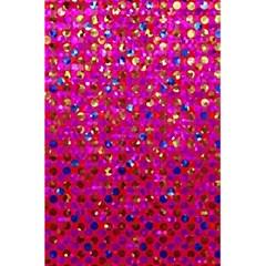 Polka Dot Sparkley Jewels 1 5 5  X 8 5  Notebooks