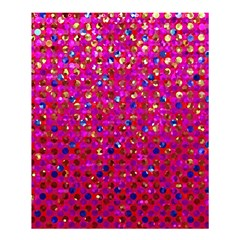 Polka Dot Sparkley Jewels 1 Shower Curtain 60  X 72  (medium)