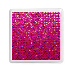 Polka Dot Sparkley Jewels 1 Memory Card Reader (Square)