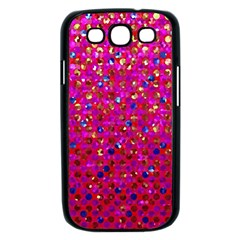 Polka Dot Sparkley Jewels 1 Samsung Galaxy S III Case (Black)