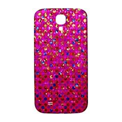 Polka Dot Sparkley Jewels 1 Samsung Galaxy S4 I9500/I9505  Hardshell Back Case