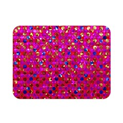 Polka Dot Sparkley Jewels 1 Double Sided Flano Blanket (mini)