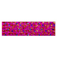 Polka Dot Sparkley Jewels 1 Satin Scarf (oblong)