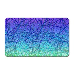 Grunge Art Abstract G57 Magnet (Rectangular)