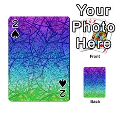 Grunge Art Abstract G57 Playing Cards 54 Designs