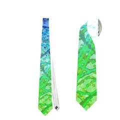 Grunge Art Abstract G57 Neckties (one Side)