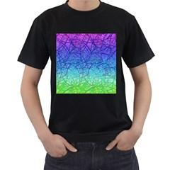 Grunge Art Abstract G57 Men s T-Shirt (Black)