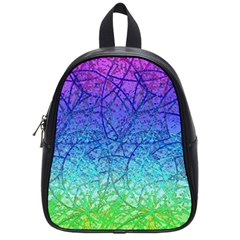 Grunge Art Abstract G57 School Bags (small)