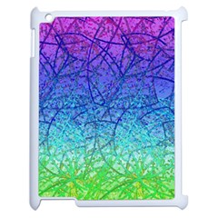 Grunge Art Abstract G57 Apple iPad 2 Case (White)