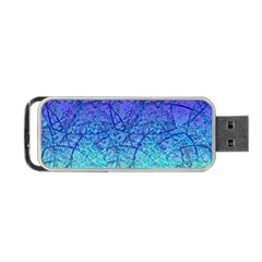 Grunge Art Abstract G57 Portable USB Flash (Two Sides)