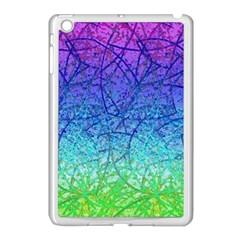Grunge Art Abstract G57 Apple iPad Mini Case (White)