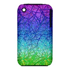 Grunge Art Abstract G57 Apple Iphone 3g/3gs Hardshell Case (pc+silicone)