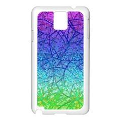 Grunge Art Abstract G57 Samsung Galaxy Note 3 N9005 Case (White)