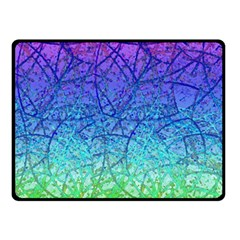 Grunge Art Abstract G57 Double Sided Fleece Blanket (Small)