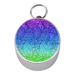Grunge Art Abstract G57 Mini Silver Compasses