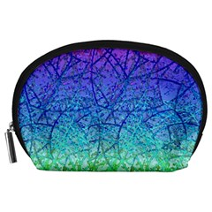 Grunge Art Abstract G57 Accessory Pouches (Large)
