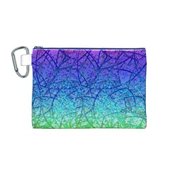 Grunge Art Abstract G57 Canvas Cosmetic Bag (M)