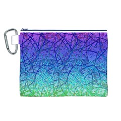 Grunge Art Abstract G57 Canvas Cosmetic Bag (L)