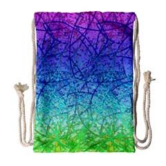 Grunge Art Abstract G57 Drawstring Bag (Large)