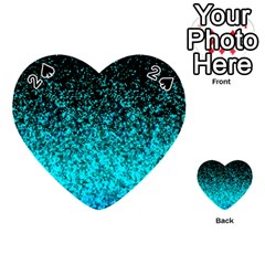 Glitter Dust G162 Playing Cards 54 (heart)